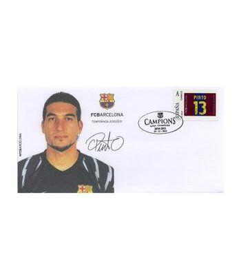 Colección Filatélica Oficial F.C. Barcelona. Pack nº25.  - 4