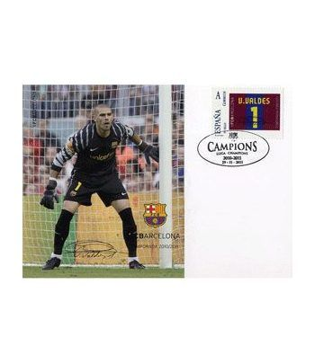 Colección Filatélica Oficial F.C. Barcelona. Pack nº25.  - 6