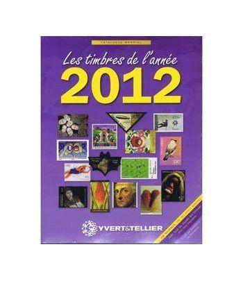 YVERT ET TELLIER Novedades mundiales 2012 Catalogos Filatelia - 2