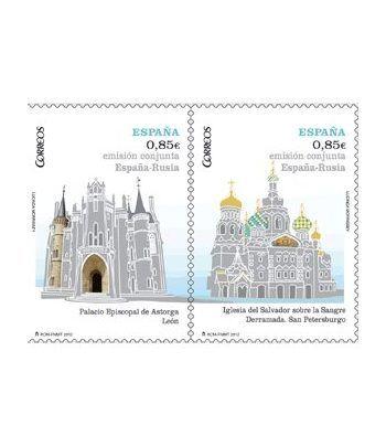 4737/8 Emisión conjunta España-Rusia.  - 2