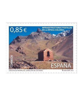 4752 Infraestructuras postales en la Época Colonial.  - 2