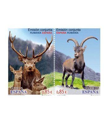 4753/4 Emisión conjunta España-Rusia. Cabra y Ciervo Rojo.  - 2