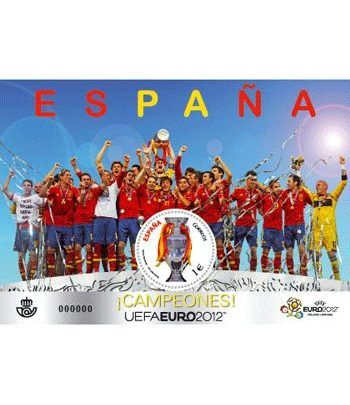 4757 Selección Española Campeones UEFA EURO 2012. Futbol.  - 2