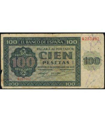 (1936/11/21) Burgos. 100 Pesetas. MBC-.  - 1