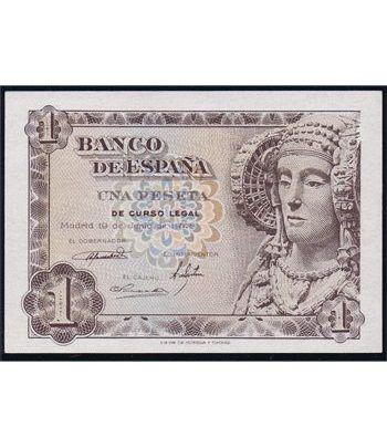 (1948/06/19) Madrid. 1 Peseta. SC. Sin Serie. 01489298.  - 1
