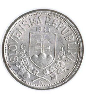 Moneda de plata 20 korun Eslovaquia 1941.  - 1