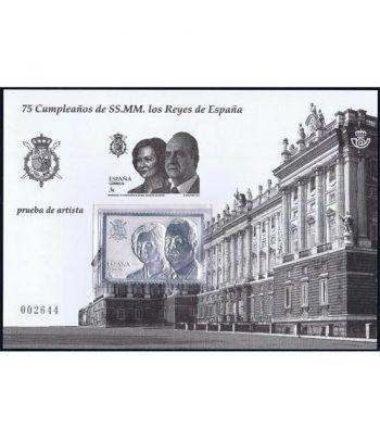 Prueba Lujo 114. 75 Cumpleaños Reyes de España 2013.  - 2