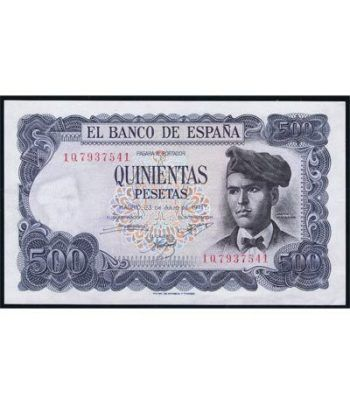 (1971/07/23) Madrid. 500 Pesetas. SC  - 1