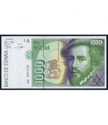 (1992/10/12) 1000 Pesetas. SC. Pareja.  - 1
