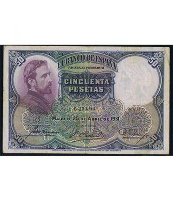 (1931/25/04) Madrid 50 Pesetas MBC.  - 1
