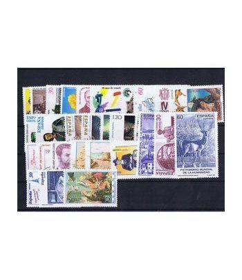Sellos de España año 1996 COMPLETO con hojitas bloque  - 2