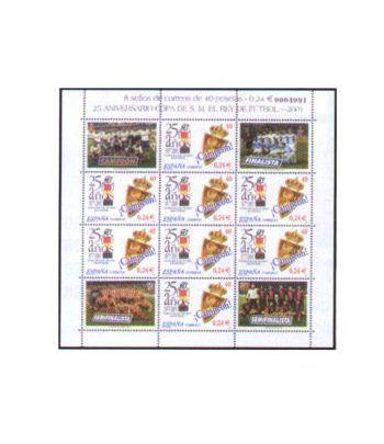 Minipliego 75 Copa del Rey 2001  - 2
