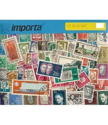 Belgica 025 sellos (gran formato)  - 2