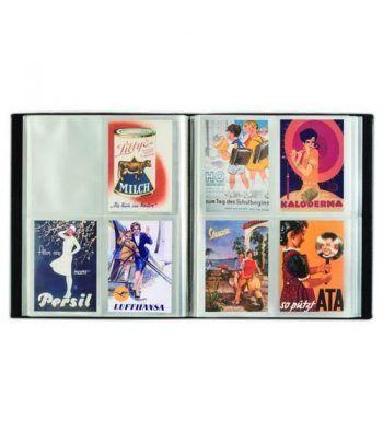 LEUCHTTURM Album para postales, 4 divisiones para 400 postales.  - 1