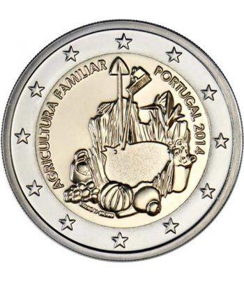moneda conmemorativa 2 euros Portugal 2014. Agricultura.  - 2