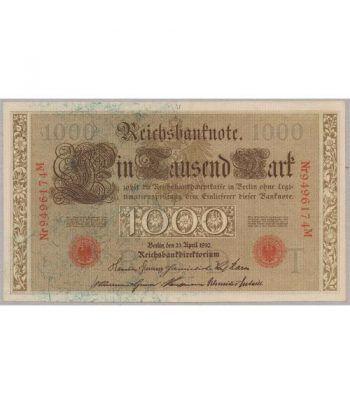 Alemania (Berlín) 1000 Marcos 1910. SC  - 1