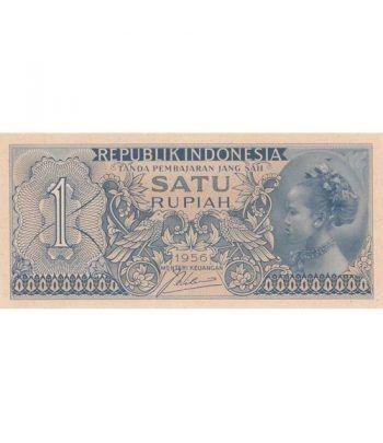 Indonesia 1 Rupiah. Satu Rupiah 1956. SC.  - 1