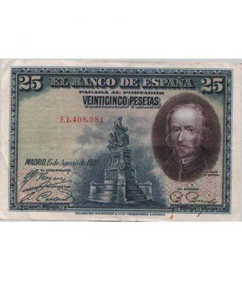 (1928/15/08) Madrid 25 Pesetas MBC.  - 1