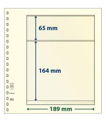 LINDNER Hojas clasificadoras T-Blanko 802203 Hojas Clasificadoras - 2