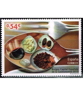 4852 Burgos Capital Gastronomía 2013  - 2