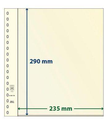 LINDNER Hojas clasificadoras T-Blanko 802106 paquete de 10  - 2