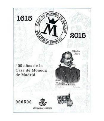 Prueba Lujo 124 Casa Moneda de Madrid.  - 2
