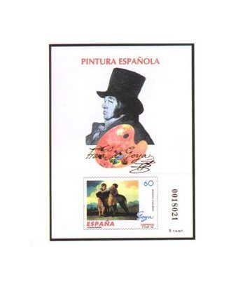 Prueba Lujo 060 Pintura española Goya 1996  - 2