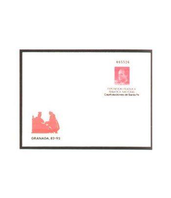 Sobre Entero Postal 008 Granada 1987  - 2