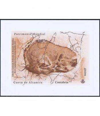 Boceto 2015 Patrimonio Mundial. Cueva de Altamira.  - 2