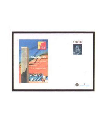 Sobre Entero Postal 021 Filatelia 1993  - 2