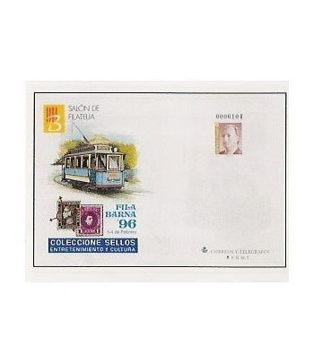 Sobre Entero Postal 030 Filabarna 1996  - 2