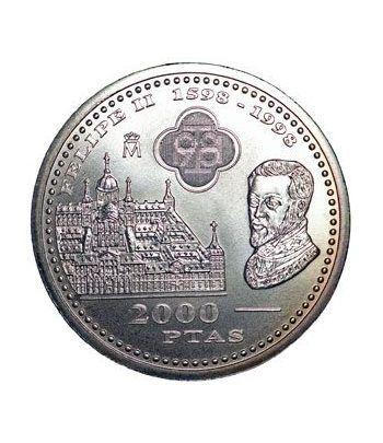 Moneda conmemorativa 2000 ptas. 1998. Plata.  - 1
