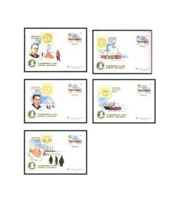 Sobre Entero Postal 049 a,b,c,d,e Filatelica Polar 98  - 2