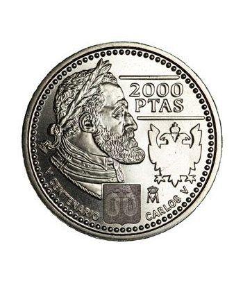 Moneda conmemorativa 2000 ptas. 2000. Plata.  - 1