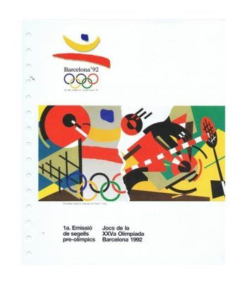 Colección Sellos Preolímpicos Barcelona 1992.  - 1
