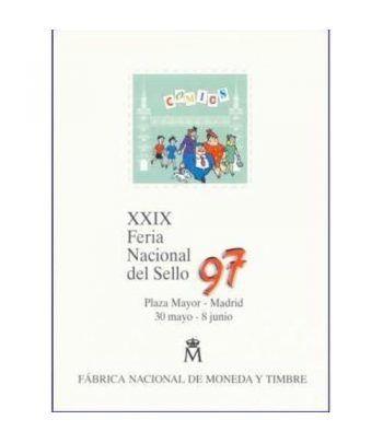 1997 Documento 44 XXIX Feria Nacional del Sello  - 1