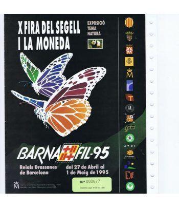 1995 Documento 34 Xº BARNAFIL '95. Naturaleza WWF  - 1