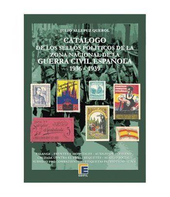 EDIFIL. Sellos políticos zona nacional Guerra Civil Española Catalogos Filatelia - 2