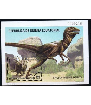 185 HB Fauna Prehistorica. Muestra.  - 2