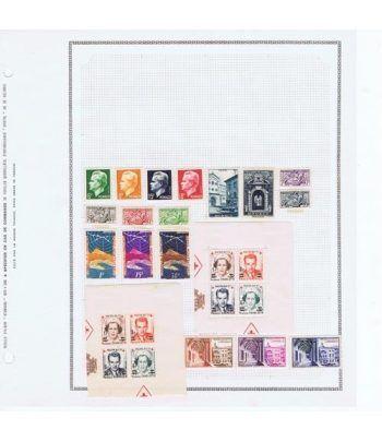 Colección Sellos de Mónaco 1950/1960. Incompleta.  - 1