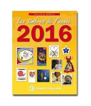 YVERT ET TELLIER Novedades mundiales 2016. Catalogos Filatelia - 2