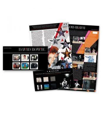 Sellos Música David Bowie. Inglaterra 2017. Pack Presentación.  - 1