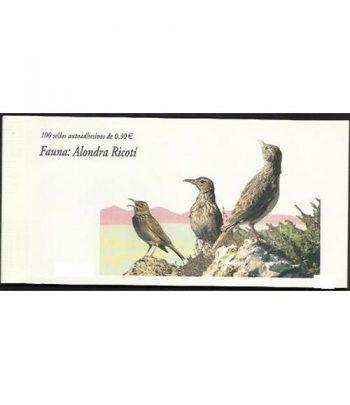 4305c Fauna y Flora ALONDRA (carnet de 100 sellos)  - 2