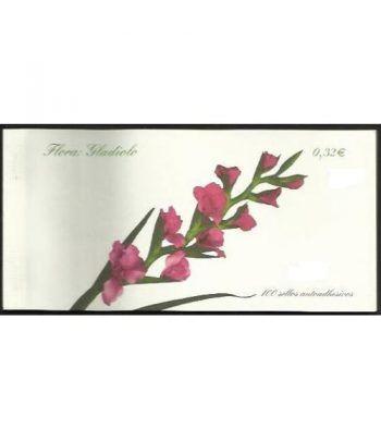 4463C Fauna y Flora 2009 GLADIOLO (carnet de 100 sellos)  - 2