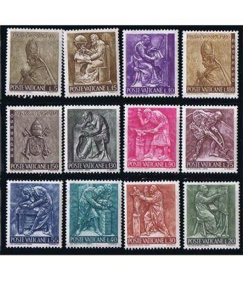 Vaticano 0441/50 Serie Corriente. Arte 1966.  - 2