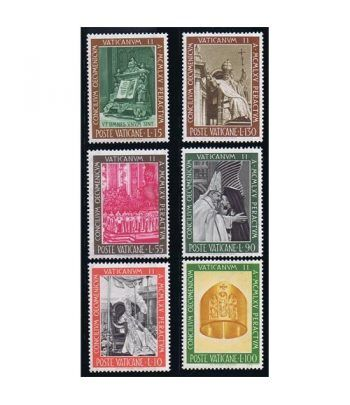 Vaticano 0457/62 Clausura Concilio Ecuménico 1966.  - 2