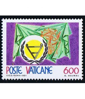 Vaticano 0712 Año de las personas discapacitadas 1981.  - 2