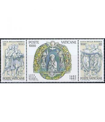 Vaticano 0728/30 Luca de la Robbia 1982.  - 2