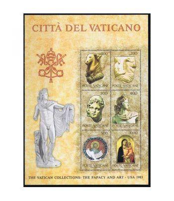 Vaticano HB 06 Arte Vaticano en Estados Unidos II 1983  - 2