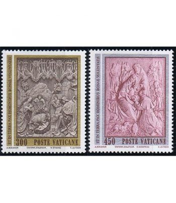 Vaticano 0737/38 Navidad 1982.  - 2